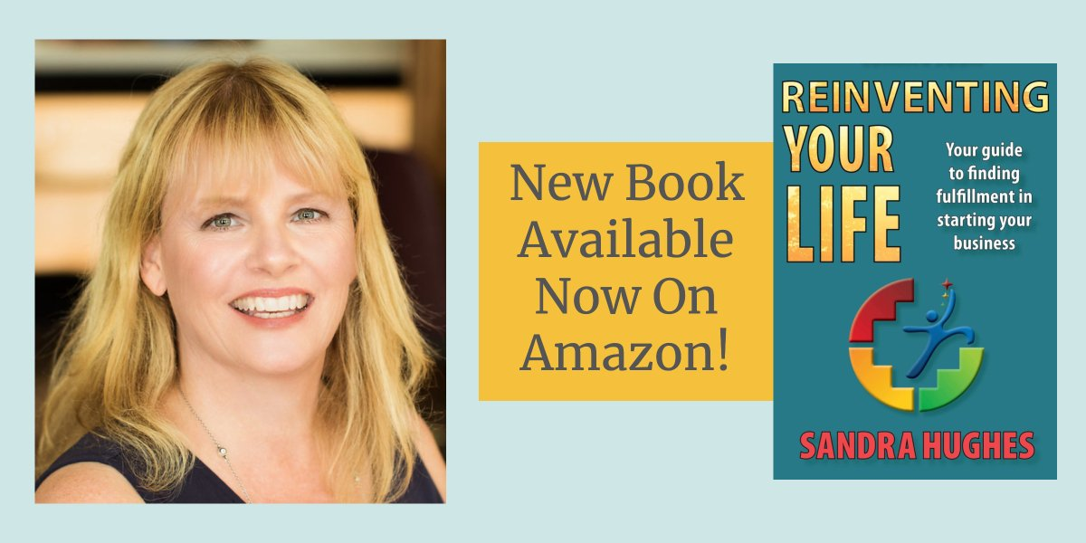 Reinventing Your Life Book by Sandra Hughes on Amazon