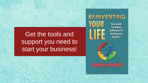 Sandra's new book focuses on the tools & support to start your own business