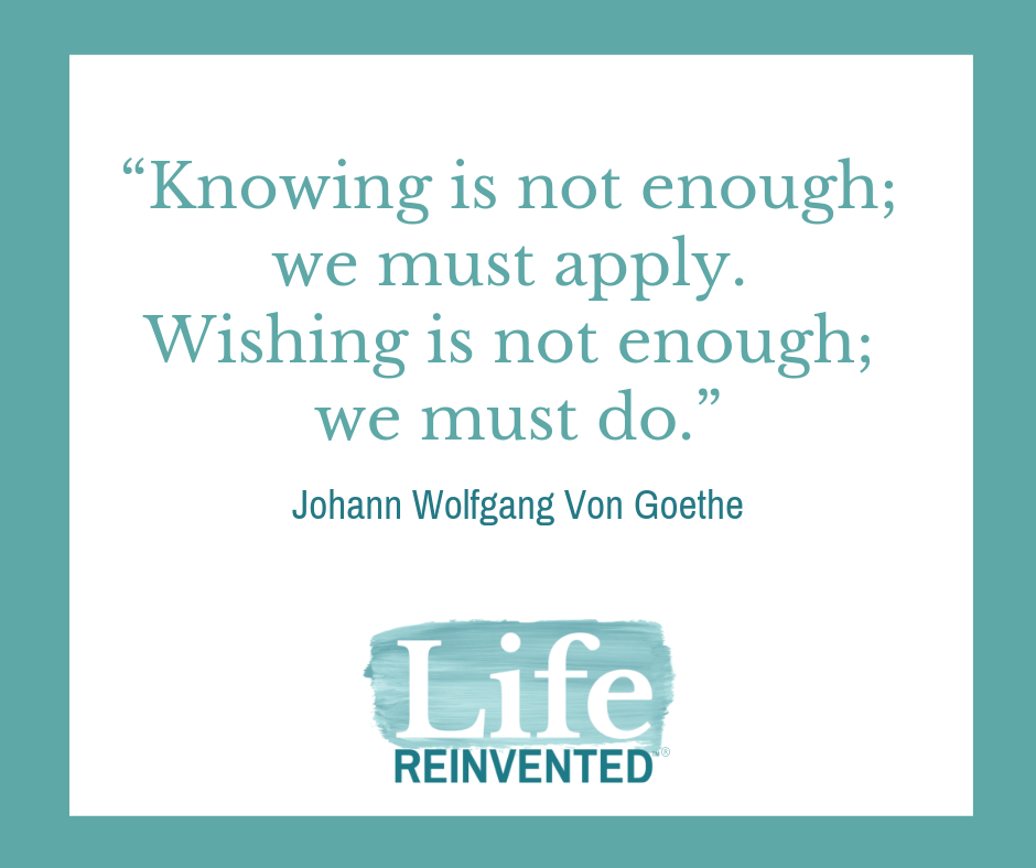 We must do Goethe Life Reinvented