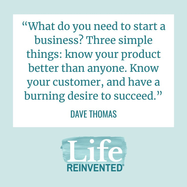 dave thomas life reinvented