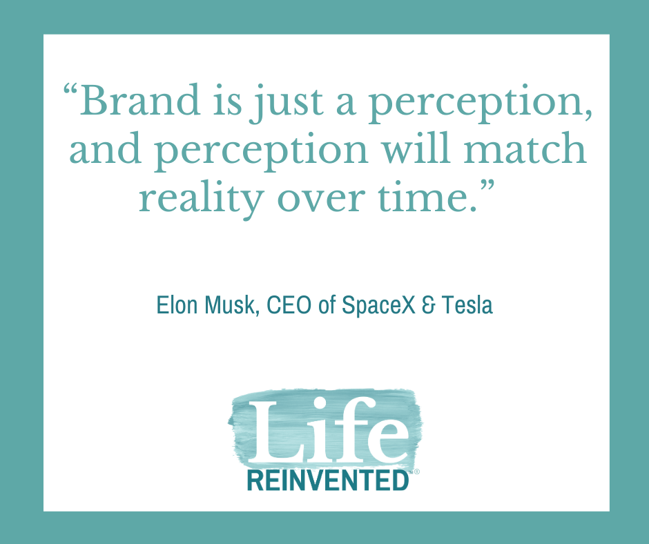 Elon Musk Brand is just a perception, and perception will match reality over time.