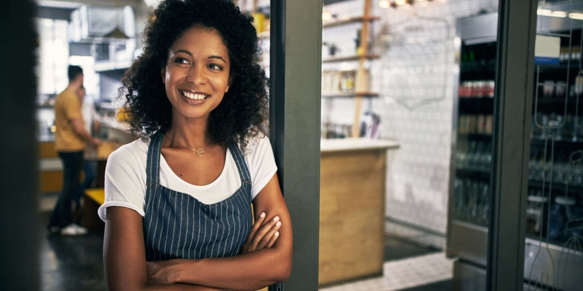 African American woman business owner