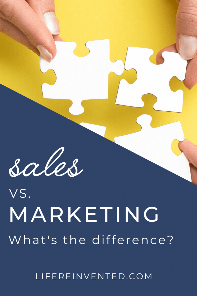 sales vs marketing