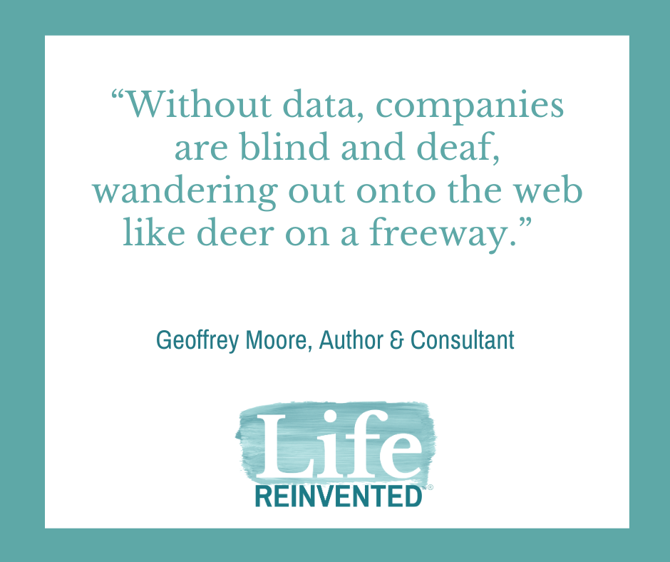 Geoffrey Moore quote Data-Driven Building a Successful Business by the Numbers