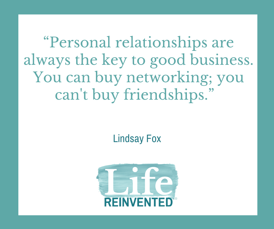 Lindsay Fox quote Networking 101 How To Get The Most Out Of It