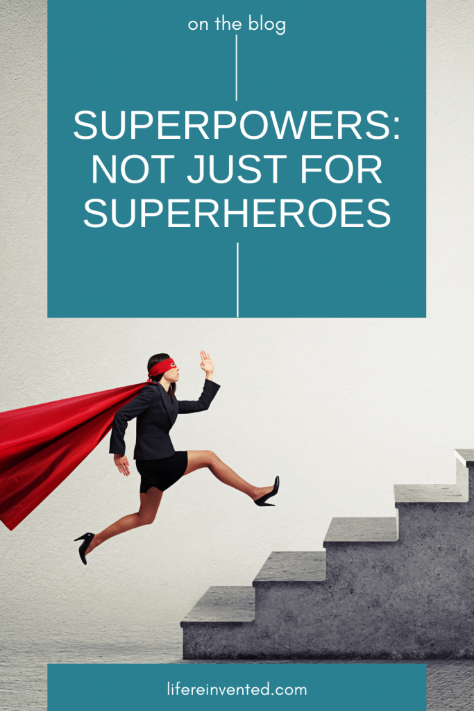 superpowers not just for superheroes pinterest